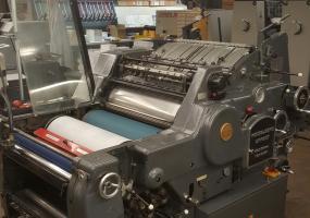 a photo of 1974 Heidelberg 64 KORD (Gray Model) K-line Single Color Press - Monterey, CA - NO RIGGING COST