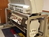 a photo of Double Sided Proofing System with Two Epson Stylus Pro 9700 Printers, Stand, Computer/Software/Camera System - Arcadia, WI