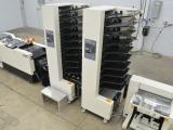 Duplo DC-10000S 20 Bin Vacuum Feed Bookletmaking System w/ DBM-200 Bookletmaker and Trimmer