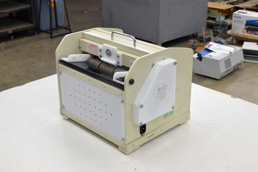 Lot #109: Handy Slitter Model HS-442 Business Card Slitter - WireBids