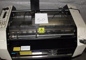 a photo of Graphic Wizard Numbering, Perforating and Scoring Machine
