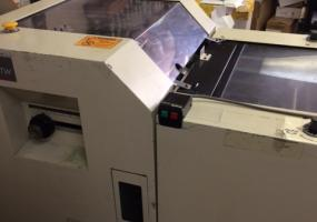 a photo of Duplo DC-10000 10 Bin Vacuum Feed Collator Tower with Hand Marry Lift Unit, DBM 200 Bookletmaker and Face Trimmer Model 48-TW - Springfield, MO