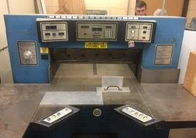 """a photo of Challenge 420 Paper Cutter - 42"""" Fully-Automatic & Programmable - Oakdale, MN"""