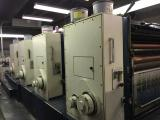 "a photo of Komori Lithrone L-440 Four Color Press with Extra Rollers - 40"" - Boulder, CO"