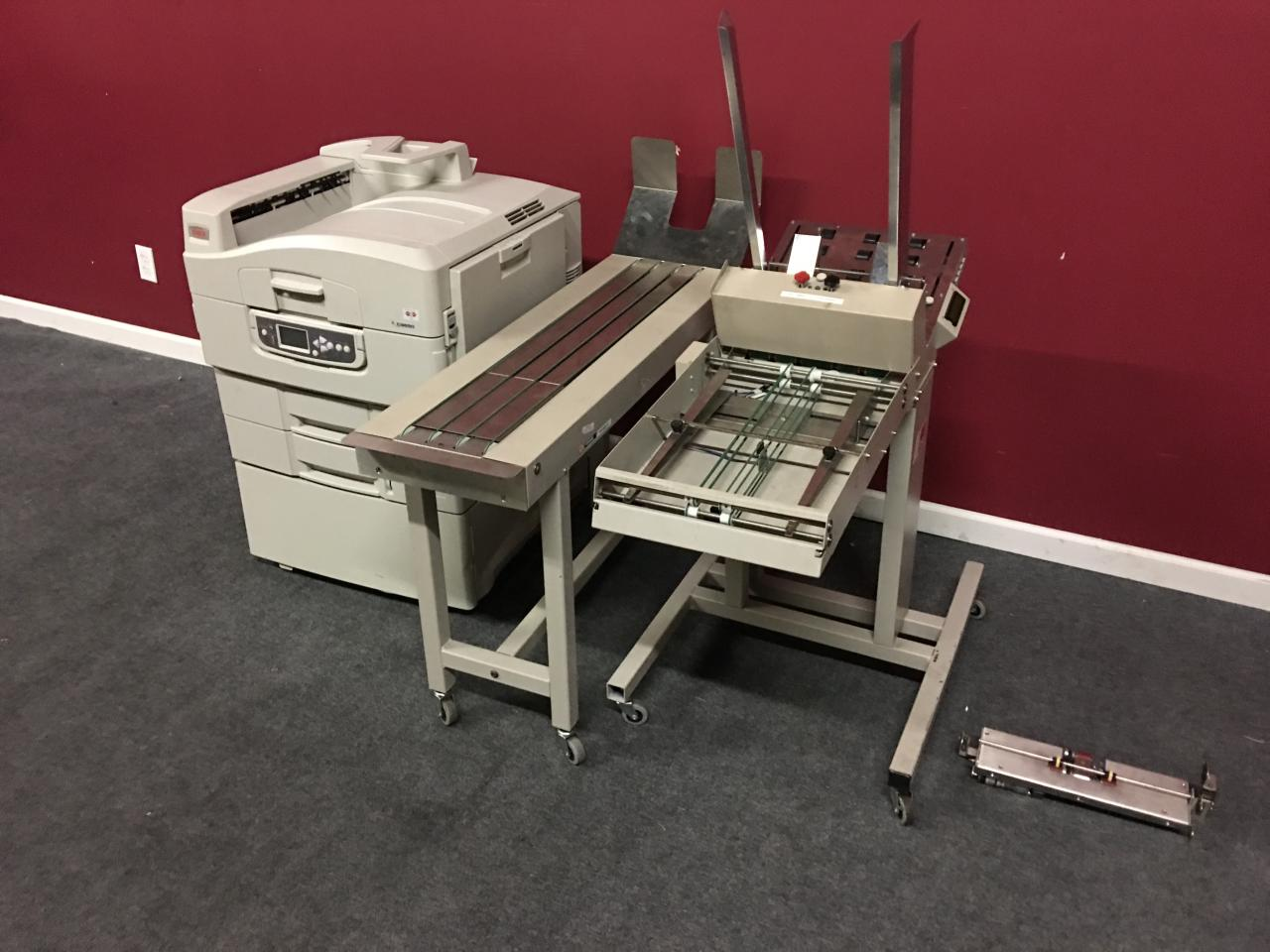 bowes formax inserting equipment from mn in moorhead pitney feeder envelope and