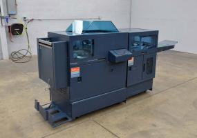 a photo of C.P. Bourg SBM4-AGR Stitcher and PA Trimmer - Bookletmaking System