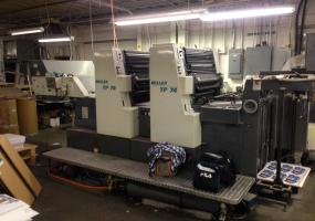 a photo of 1992 Man Miller TP74 2 Color Perfector with High Pile Delivery - St. Joseph, MI