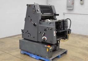 a photo of 1987 Heidelberg GTO 52 One Color Offset Printing Press