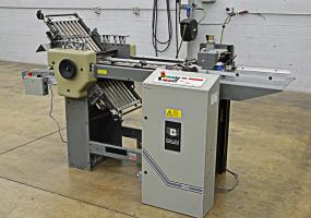 a photo of 2001 Baum 2015 Pile Feed Paper Folder- Click for Video!