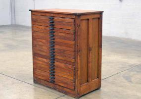 a photo of Hamilton Type Cabinet - Over 100 Years Old