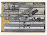 a photo of 20 High Speed Quoins - Various Sizes -  Plus Key