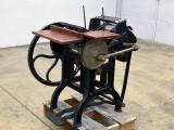 a photo of Liberty No. 2 Platen Press - 150 Years Old - Click for Video!