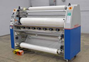 """1998 GBC Pro-Tech Orca III 60"""" Industrial Large Format Hot/Cold Laminator - Click for Video!"""