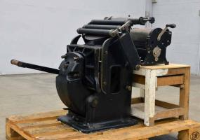 a photo of 23 x 32.5 Hohner Press with No. 60 Multigraph