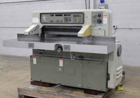 1987 Polar 92 EMC Programmable Paper Cutter - Skidded and Loaded at no charge! Click for Video!