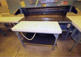 "Wohlenberg 70"" Model 180 Paper Cutter - Updated Electronics and Computer - Dismantled Skidded and Loaded at no charge - Save Thousands on rigging"