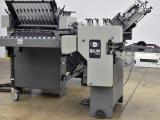 1998 Baum 2020 Pile Feed Paper Folder with Right Angle - In Excellent Condition - Click for Video!