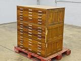 a photo of Hamilton Wood Flat Filing Cabinets - Good for Storing Wood Type!
