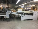 a photo of Heidelberg StahlFolder Model B30 6BRD, continuous Feed, Digital Batch Counter and 2x Right Angle Attachments - Saint Laurent, Quebec, Canada - Click for Video!