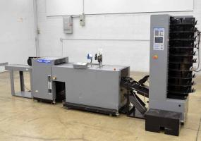 a photo of Duplo System 5000 Bookletmaker with Collator and Trimmer