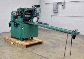 a photo of 1983 Halm JP-WOD-6D Jet Press Envelope Press with Delivery Conveyor