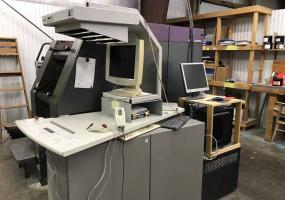 a photo of Heidelberg QuickMaster DI 46-4 Digital Printing Press with RIP Computer - 32 x 48