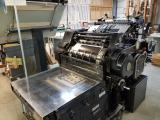"a photo of Heidelberg Cylinder 18"" x 23"" Die Cutting Press with 3 Chases, Misc Parts & Furniture - Fort Worth, TX - Click for Videos!"
