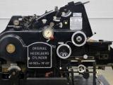 Heidelberg 18 x 23 KSBA Cylinder Die Cutter with Inker