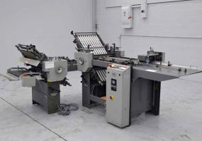 a photo of 1995 Baum 2020 Pile Feed Paper Folder with Right Angle - Click for Video!