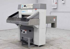 """2007 Polar/Baum 66 Programmable 26.4"""" Paper Cutter w/ Safety Lights - Click for Video!"""