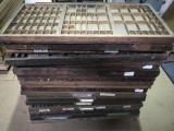 a photo of 43 Empty Hand Set Type Drawers - Santa Rosa, CA