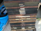 a photo of 30 Empty Hand Set Type Drawers - Lot C - Santa Rosa, CA