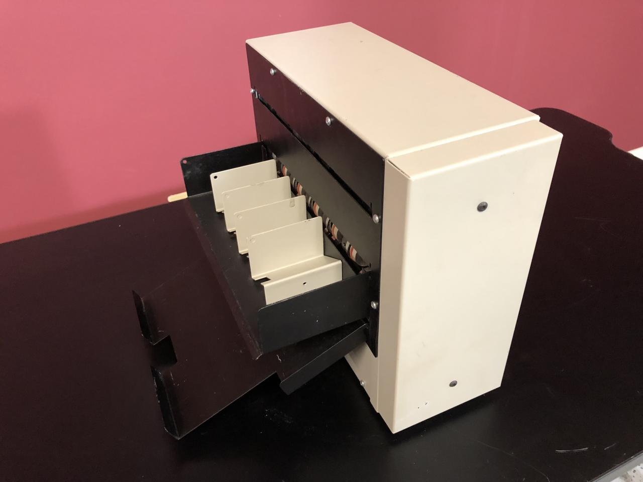 Lot #25: Martin Yale BCS412 Business Card Slitter with Catch Tray ...