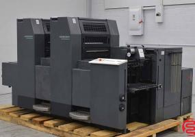 a photo of 1996 Heidelberg SpeedMaster SM 52-2 Two Color Offset Press