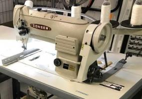 Consew Model 339RB-4 Industrial Sewing Machine with Stand - Berryville, VA