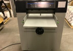 Challenge 2020 Multi Paper Cutter with Power Clamp, Manual Back Gauge and Digital Readout - Berryville, VA