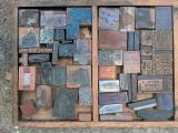 a photo of Drawer of Printers Blocks #1 - Columbus, OH