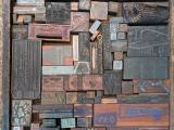 a photo of Drawer of Printers Blocks #4 - Columbus, OH
