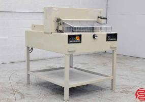2003 MBM Triumph 6550-95EP Power Cut & Clamp Paper Cutter - Click for Video!