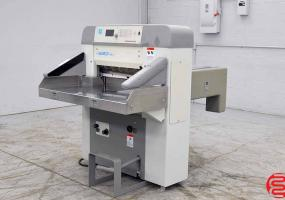 """a photo of 2000 Baumcut Model 66 26.4"""" Programmable Paper Cutter (Same as Polar) with Safety Lights - Click for Video!"""