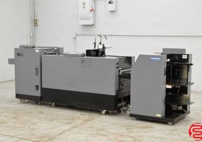 a photo of 2005 Duplo DSF-2000 Booklet Making System with Trimmer, Stitcher, Folder - Click for Video!