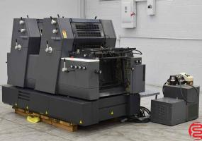 a photo of 2002 Heidelberg Printmaster 52-2 GTO Two Color Offset Press - Approx 10 Mill Impressions