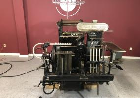 """a photo of Heidelberg 13"""" x 18"""" GTP Windmill with FOIL Attachment - Click for Video!"""