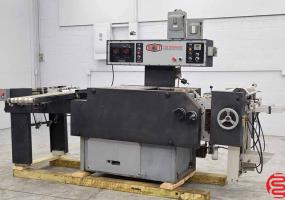 a photo of Scott Ten Thousand Automatic Plastic Index Tab Machine - Click for Video!