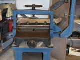 a photo of Challenge Paper Cutter - Manual Operated on Original Base with 2 Extra Blades - Sarasota, FL