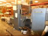 a photo of Harris L129B Offset Press with Hanovia UV Coater Conversion