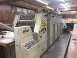 a photo of 2000 Adast 755CP DI Five Color Offset Press with Aqueous Coater, Krelus Infrared Dryer, Air Knives, Sheet Decurler, Inkflow Registration & Ink Control, Chilled Ink Distributors and Lasers