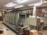 2000 Adast 755CP DI Five Color Offset Press with Aqueous Coater, Krelus Infrared Dryer, Air Knives, Sheet Decurler, Inkflow Registration & Ink Control, Chilled Ink Distributors and Lasers