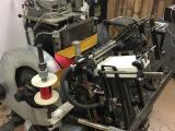 "a photo of Heidelberg Windmill with Foil Attachment - 10"" x 15"", Jacket and 2 Chases - Click for Video!"
