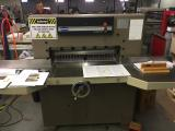 a photo of Challenge 305 MC Paper Cutter with Digital Display, Manual Back Gauge, Blade Changing Tools, Large Side Tables